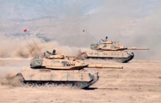 Türk ve Irak askerleri Habur Sınır Kapısı'na...