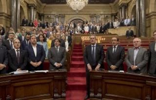 İspanya Anayasa Mahkemesi, Katalan parlamentosunun...