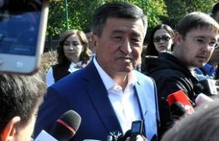 Kırgızistan'ın 5'inci Cumhurbaşkanı...
