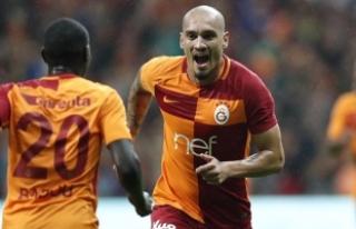 Maicon, Galatasaray'da zirve yaptı