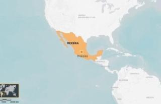Meksika'da askeri helikopter düştü: 7 ölü,1...