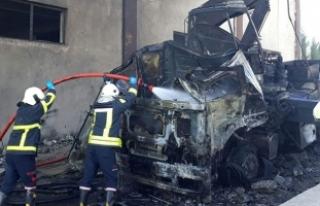 Organize Sanayi bölgesinde LPG tankı patladı!