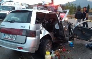 Osmaniye'de zincirleme trafik kazası: 1 ölü...