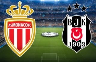 Şampiyonlar Liginde Monaco - Beşiktaş Maçı Şifresiz...