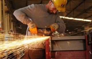 Sanayi üretim endeksi yüzde 5,2 arttı