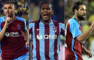 Trabzonspor'un hücum oyuncuları 13 takıma...