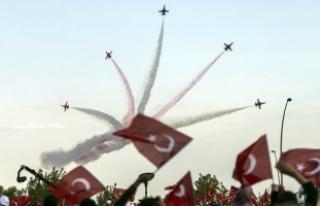 Türk Yıldızları '25. Yıl Gösterisi'...