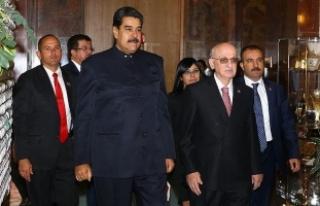 Venezuela Cumhurbaşkanı Maduro TBMM'de