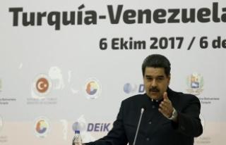 Venezuela Devlet Başkanı Maduro: Türkiye'deki...