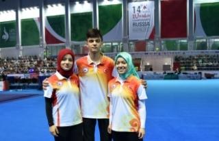 Wushu'da 3 Türk kardeşin madalya mücadelesi
