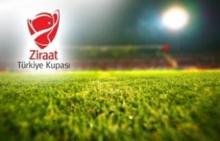 Ziraat Türkiye Kupası 5'inci tur ilk maçlarının...