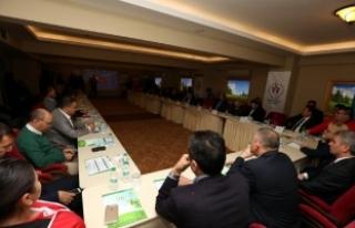 43 spor federasyonunun başkan ve temsilcileri Bolu'da...