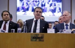 AB Bakanı ve Başmüzakereci Çelik: Türkiye Gümrük...