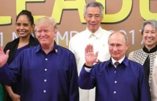 Trump ve Putin telefonda görüştü