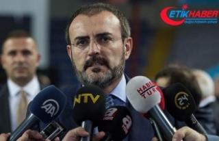 AKP Sözcüsü Ünal'dan BAE Dışişleri Bakanına...