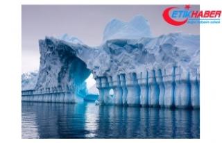 Antartika buz sahanlığından dev bir parça daha...