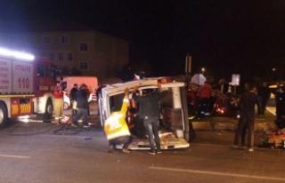 Aynı gece 2 ambulans kazası!