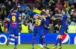 Barcelona liderliğini sürdürdü