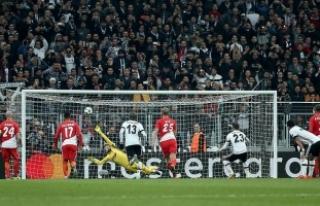 Beşiktaş Avrupa'da namağlup liderliğini sürdürdü