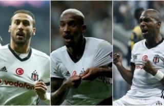 Beşiktaş'ı taşıyan üçlü