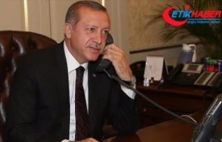 Erdoğan, Pakistan Cumhurbaşkanı Hüseyin ile telefonda...