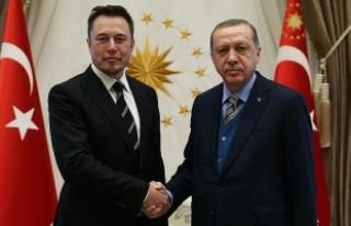 Cumhurbaşkanı Erdoğan, Elon Musk'ı kabul...