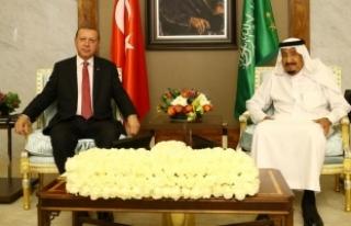 Cumhurbaşkanı Erdoğan, Kral Selman ile telefonda...