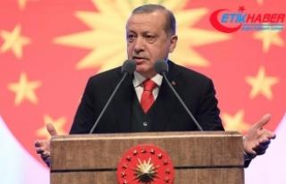 """Cumhurbaşkanı Erdoğan: """"Piyasaya süreceğiniz..."""