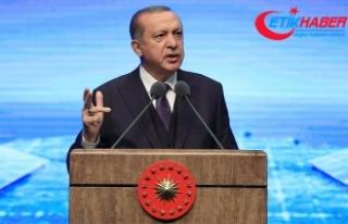 Erdoğan: Dövizdeki suni şişkinlik kısa sürede...