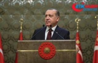 Erdoğan: Gazilerimiz 80 milyonun namusuna emanet...