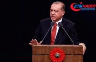 Erdoğan: Kadına yönelik şiddet asla kabul edilemez