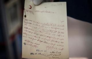 Esir Osmanlı askerlerinin mektupları torunlarına...