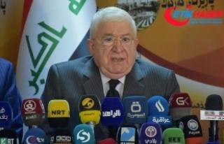 Irak Cumhurbaşkanı Masum Kerkük'ü ziyaret...