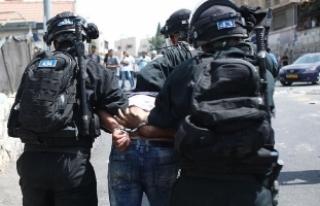 İsrail askerleri 18 Filistinliyi gözaltına aldı