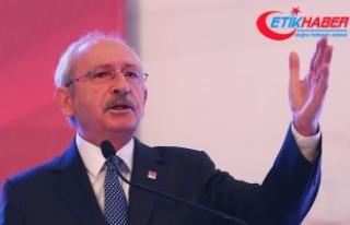 CHP Genel Başkanı Kılıçdaroğlu: 2019'a...