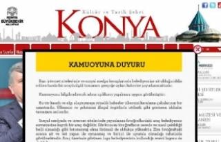 Konya Büyükşehir Belediyesi'nden Rakka'da...
