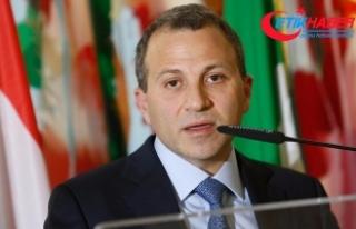 Lübnan Dışişleri Bakanı Bassil Türkiye'ye...