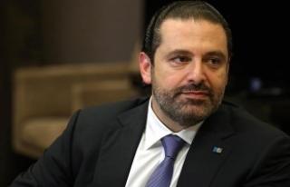 """Hariri """"Lübnan'a döneceğim"""" açıklamasını..."""