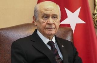 """MHP Lideri Bahçeli'den """"seçim ittifakı yasası""""..."""