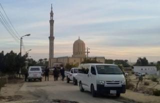 Mısır'daki cami saldırganlarından bazıları...