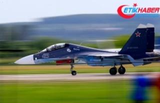 Rus jeti ABD keşif uçağı için havalandı