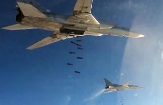 Rus uçakları DAEŞ mevzilerini vurdu