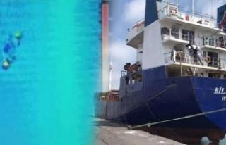 Şile'de batan gemi: Arama çalışmalarında...