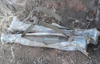 Şırnak'ta 2 güdümlü tanksavar füzesi ele...