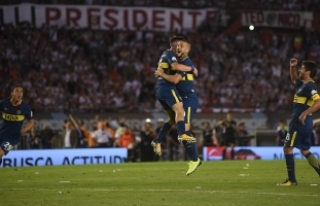 'Superclasico'nun galibi Boca Juniors