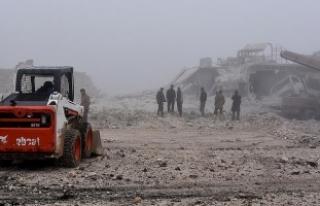 Suriye'de 747 'yaşam merkezi' bombalandı