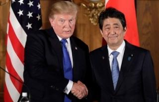 Trump Japonya Başbakanı Abe ile görüştü