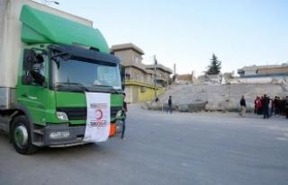 Türk Kızılayı Irak'taki deprem bölgesine...