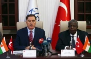 Türkiye-Nijer arasında iş birliği