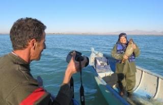 Türkiye'nin en büyük tatlı su gölünün...